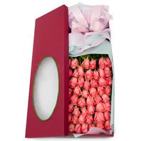 핑크장미 꽃상자